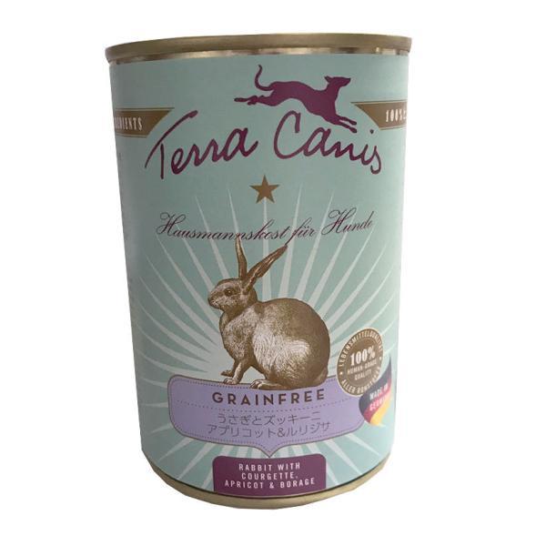 【正規輸入品】テラカニス グレインフリー ウサギ肉 犬用 400g
