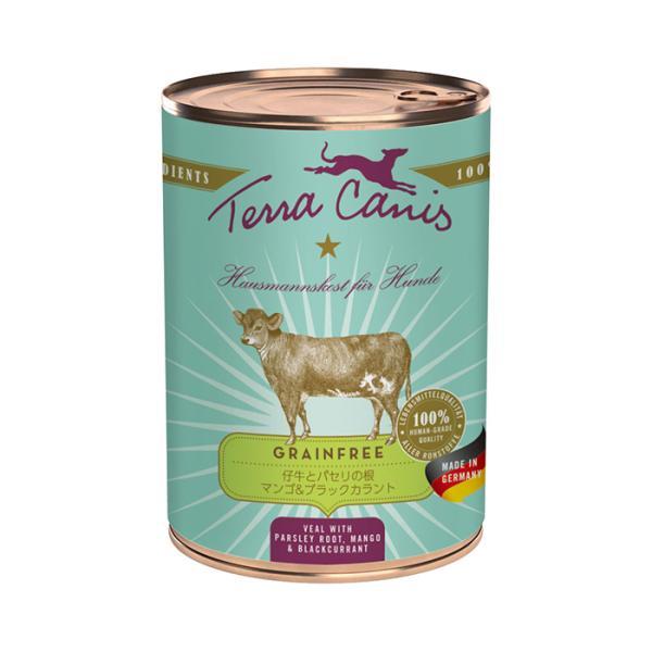 【正規輸入品】テラカニス グレインフリー 仔牛肉 犬用 400g