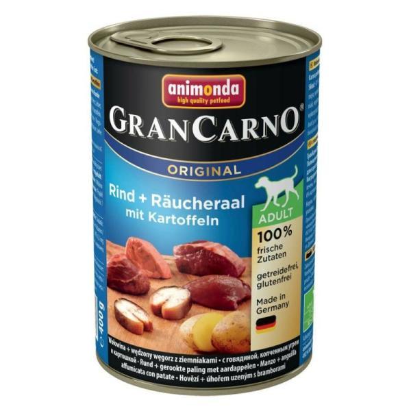 【正規輸入品】アニモンダ グランカルノ ウェット アダルト 牛肉・アナゴ・野菜 犬用 400g