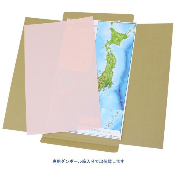 立体日本地図カレンダー2019年度版(額なし)|lohasshop-y|08
