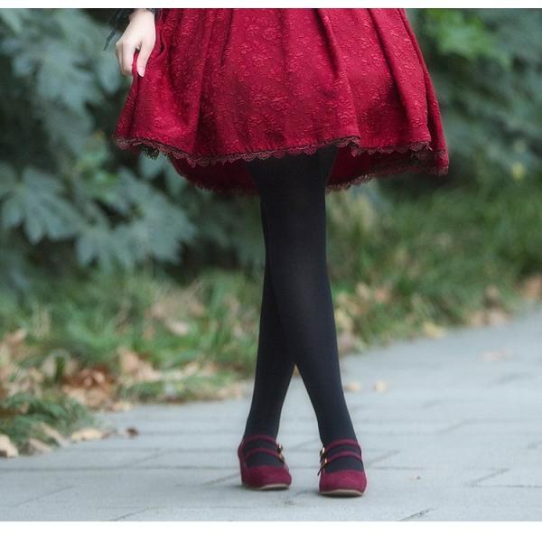 ロリータ コルセットハイウエストスカート スカートのみ クラシック クラロリ ゴスロリ|loliloli|07