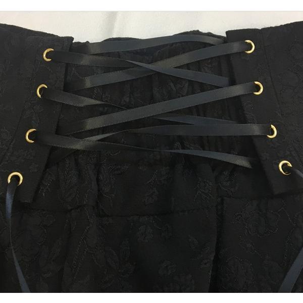 ロリータ コルセットハイウエストスカート スカートのみ クラシック クラロリ ゴスロリ|loliloli|09