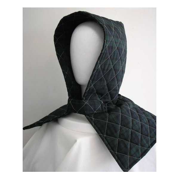防災頭巾 座布団兼用防災頭巾(子供用)ブラックウォッチ柄