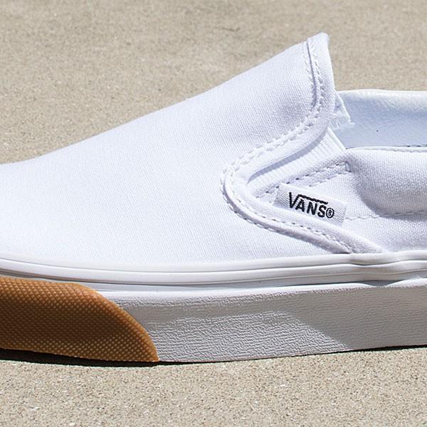VANS バンズ レディース スリッポン SLIP ON ローカットスニーカー WHITE VN0A38F7Q8R|london-game|08