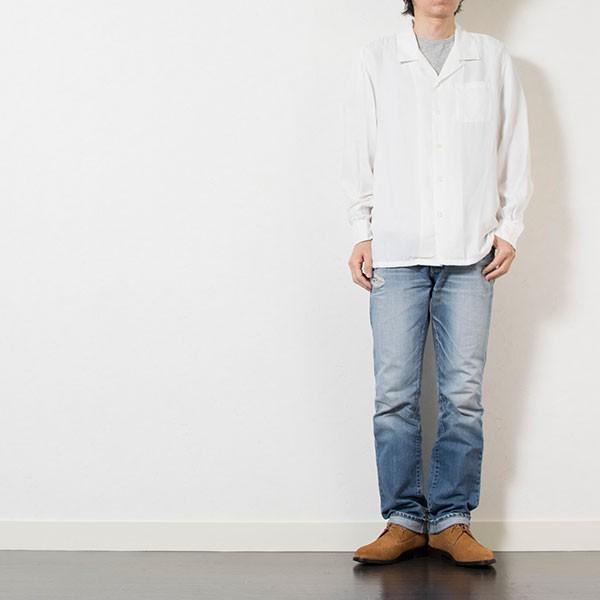 刺繍入りオープンカラーシャツ EMBROIDERY OPEN COLLAR SHIRT リス Liss メンズ|london-game|11