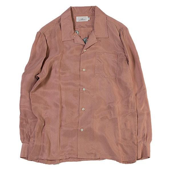 刺繍入りオープンカラーシャツ EMBROIDERY OPEN COLLAR SHIRT リス Liss メンズ|london-game|04