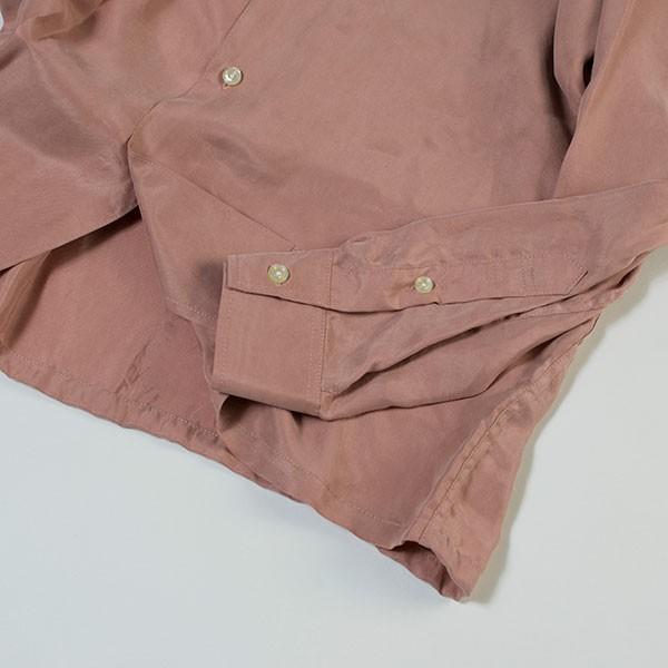 刺繍入りオープンカラーシャツ EMBROIDERY OPEN COLLAR SHIRT リス Liss メンズ|london-game|09