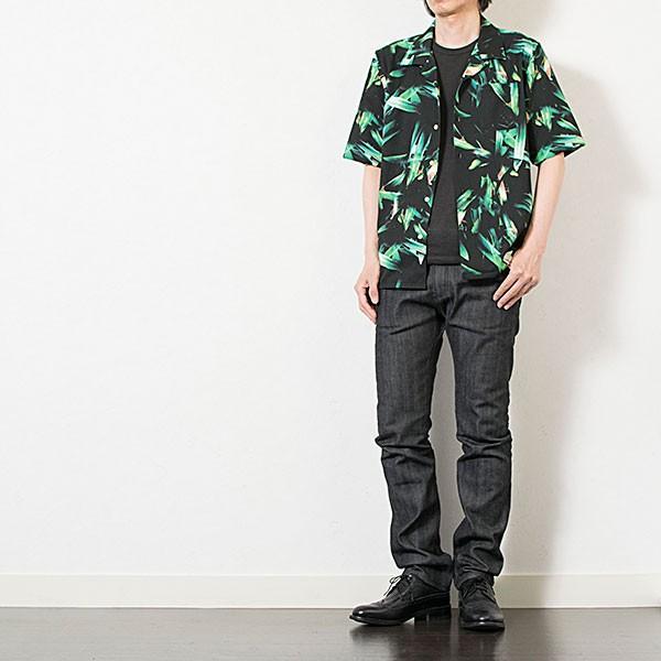 アロハ風オープンカラーシャツ OPEN COLLAR SHIRT リス Liss メンズ london-game 06