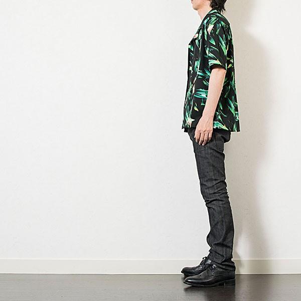 アロハ風オープンカラーシャツ OPEN COLLAR SHIRT リス Liss メンズ london-game 07