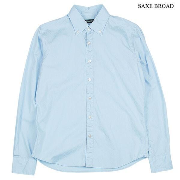 シャーリング ボタンダウンシャツ SHIRRING B.D SHIRT オーディエンス Audience メンズ|london-game|02