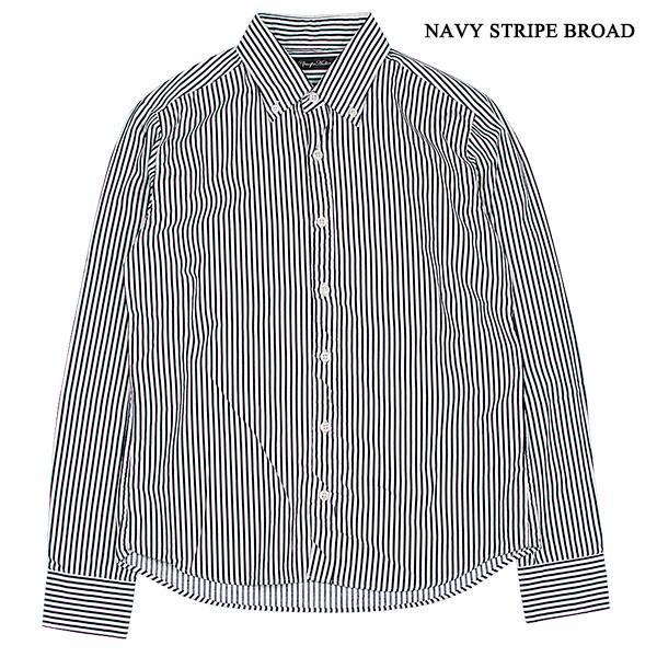 シャーリング ボタンダウンシャツ SHIRRING B.D SHIRT オーディエンス Audience メンズ|london-game|04