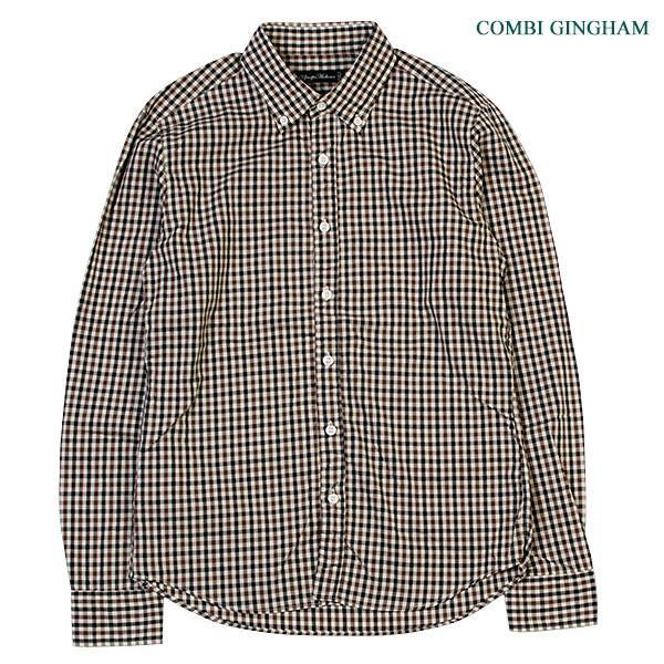 シャーリング ボタンダウンシャツ SHIRRING B.D SHIRT オーディエンス Audience メンズ|london-game|08