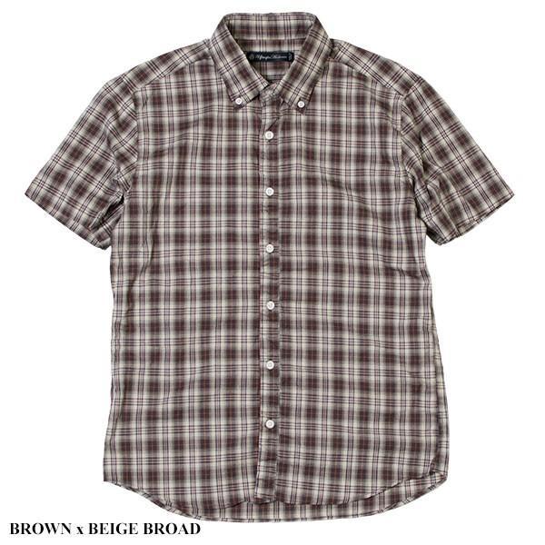 シャーリング 半袖 ボタンダウンシャツ SHIRRING B.D SHIRT オーディエンス Audience メンズ|london-game|03