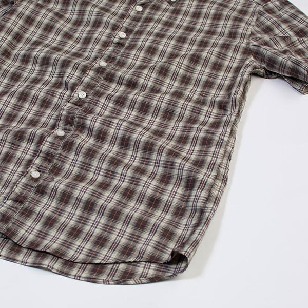 シャーリング 半袖 ボタンダウンシャツ SHIRRING B.D SHIRT オーディエンス Audience メンズ|london-game|06