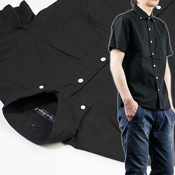 ワイドスプレッド 半袖 ボタンダウンシャツ WIDE SPREAD B.D SHIRT オーディエンス Audience メンズ|london-game|11