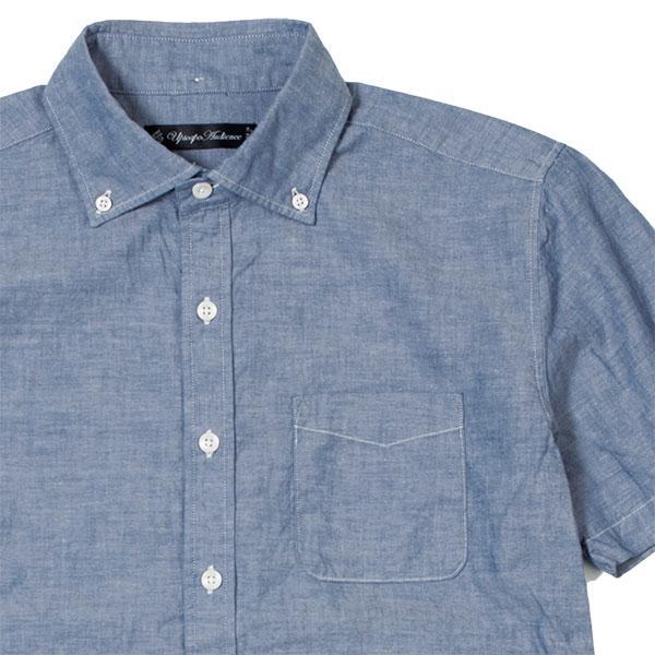 ワイドスプレッド 半袖 ボタンダウンシャツ WIDE SPREAD B.D SHIRT オーディエンス Audience メンズ|london-game|12