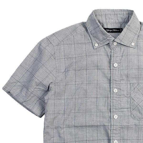 ワイドスプレッド 半袖 ボタンダウンシャツ WIDE SPREAD B.D SHIRT オーディエンス Audience メンズ|london-game|14