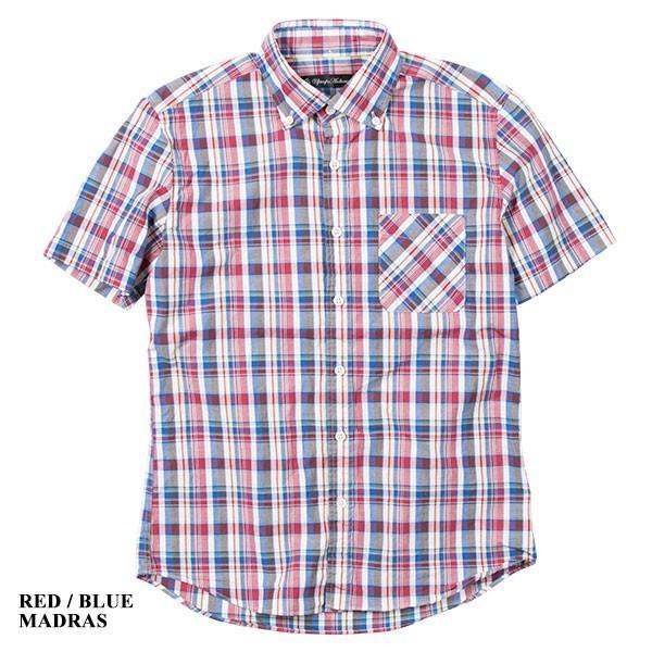 ワイドスプレッド 半袖 ボタンダウンシャツ WIDE SPREAD B.D SHIRT オーディエンス Audience メンズ|london-game|07