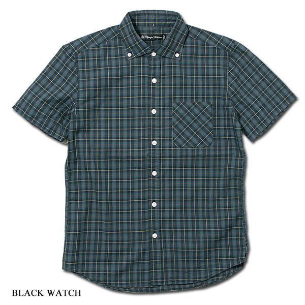 ワイドスプレッド 半袖 ボタンダウンシャツ WIDE SPREAD B.D SHIRT オーディエンス Audience メンズ|london-game|10