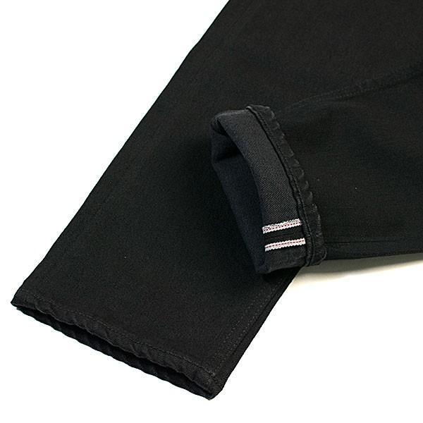 黒×黒 ストレッチデニム アンクルパンツ STRETCH DENIM ANKLE PANTS|london-game|07