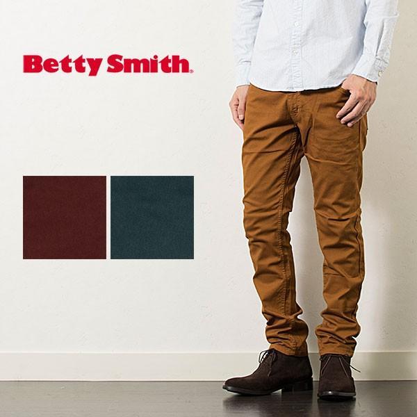 ストレッチ テーパードパンツ BETTY SMITH STRETCH TAPERED PANTS|london-game