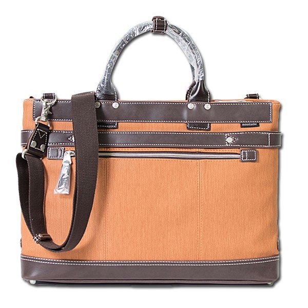 2way ビジネスバッグ ブリーフケース BRIEF CASE ムスタッシュ moustache on time|london-game|02