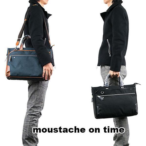 ビジネスバッグ ブリーフケース BRIEF CASE ムスタッシュ moustache on time|london-game|10