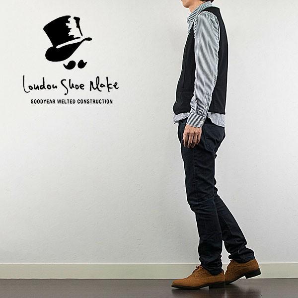 ウィングチップ 革靴 フルブローグ FULL BROGUE LEATHER SHOE グッドイヤーウェルト製法 TAN|london-game|07