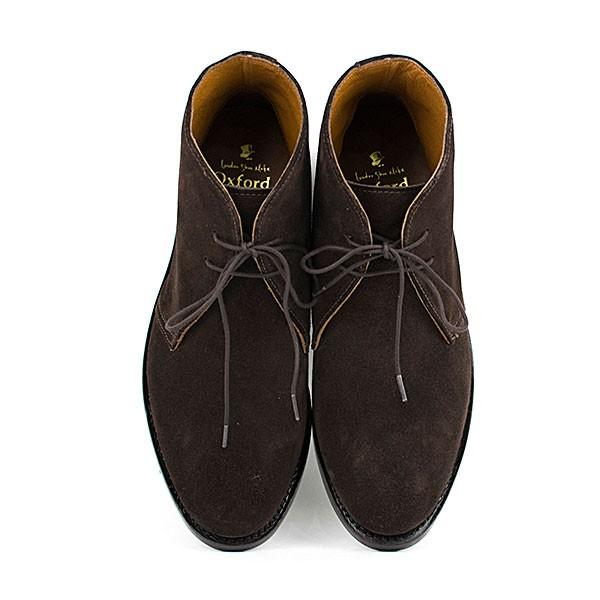 スウェード チャッカブーツ 革靴 SUEDE CHUKKA BOOT LEATHER グッドイヤーウェルト製法 D.BROWN|london-game|05