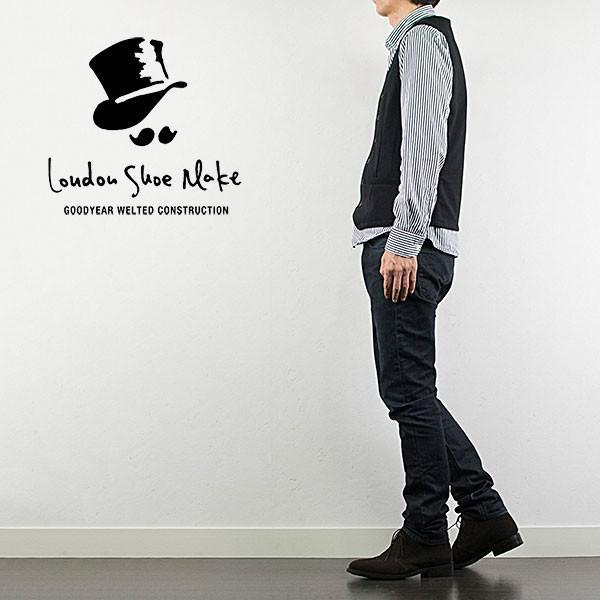 スウェード チャッカブーツ 革靴 SUEDE CHUKKA BOOT LEATHER グッドイヤーウェルト製法 D.BROWN|london-game|08
