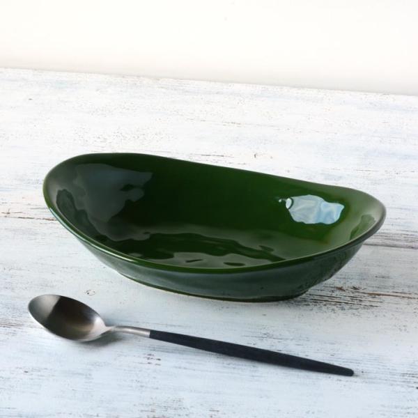 食器 和食器 パスタ カレー サラダ  おしゃれ お皿 皿 食器 プレート 陶器 美濃焼 可愛い 日本製 カレー皿&パスタ皿 24cm (全9色)|long-greenlabel|11