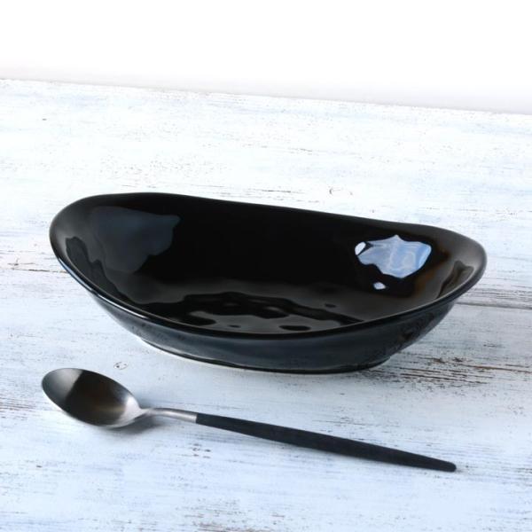 食器 和食器 パスタ カレー サラダ  おしゃれ お皿 皿 食器 プレート 陶器 美濃焼 可愛い 日本製 カレー皿&パスタ皿 24cm (全9色)|long-greenlabel|06
