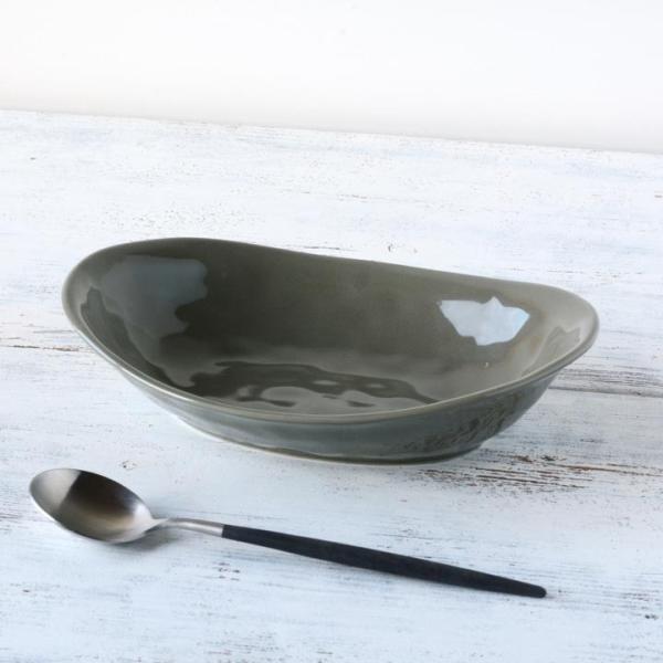 食器 和食器 パスタ カレー サラダ  おしゃれ お皿 皿 食器 プレート 陶器 美濃焼 可愛い 日本製 カレー皿&パスタ皿 24cm (全9色)|long-greenlabel|07