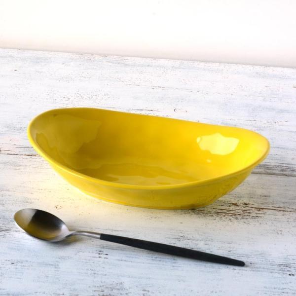 食器 和食器 パスタ カレー サラダ  おしゃれ お皿 皿 食器 プレート 陶器 美濃焼 可愛い 日本製 カレー皿&パスタ皿 24cm (全9色)|long-greenlabel|09