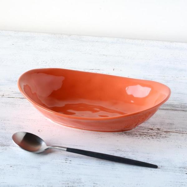食器 和食器 パスタ カレー サラダ  おしゃれ お皿 皿 食器 プレート 陶器 美濃焼 可愛い 日本製 カレー皿&パスタ皿 24cm (全9色)|long-greenlabel|10