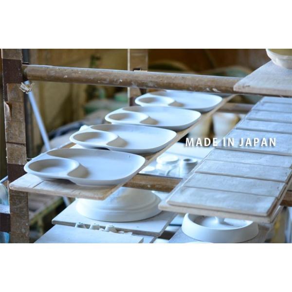 二つ仕切り ランチプレート 23cm 全9color  取り皿 おしゃれ お皿 皿 食器 プレート オシャレ 陶器 美濃焼き 可愛い 北欧 日本製|long-greenlabel|14