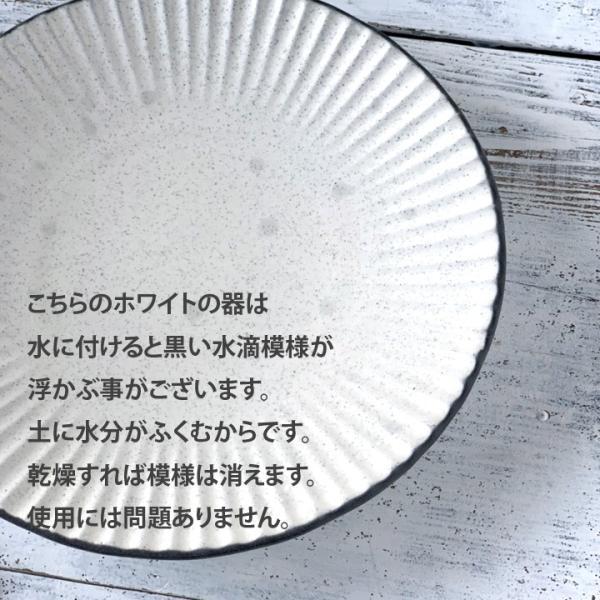 パスタ皿  カレー皿 サラダ皿 おしゃれ しのぎ お皿 和食器 プレート パン皿 しのぎ彫り 丸盛皿 3color 日本製 おうちごはん|long-greenlabel|12