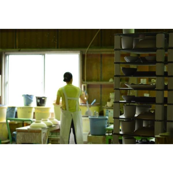 パスタ皿  カレー皿 サラダ皿 おしゃれ しのぎ お皿 和食器 プレート パン皿 しのぎ彫り 丸盛皿 3color 日本製 おうちごはん|long-greenlabel|14