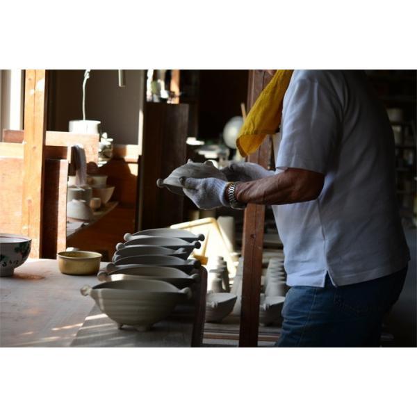 パスタ皿  カレー皿 サラダ皿 おしゃれ しのぎ お皿 和食器 プレート パン皿 しのぎ彫り 丸盛皿 3color 日本製 おうちごはん|long-greenlabel|15