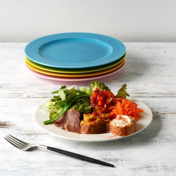 【在庫限り】 アウトレットセール 大皿 お皿 ディナー皿 パスタ皿 シンプル おしゃれ カフェ食器 日本製 美濃焼 5color プレート 23cm おうちごはん|long-greenlabel|13