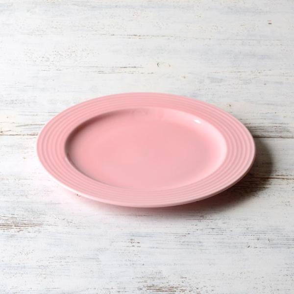 【在庫限り】 アウトレットセール 大皿 お皿 ディナー皿 パスタ皿 シンプル おしゃれ カフェ食器 日本製 美濃焼 5color プレート 23cm おうちごはん|long-greenlabel|07