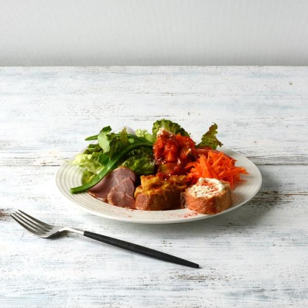 【在庫限り】 アウトレットセール 大皿 お皿 ディナー皿 パスタ皿 シンプル おしゃれ カフェ食器 日本製 美濃焼 5color プレート 23cm おうちごはん|long-greenlabel|10