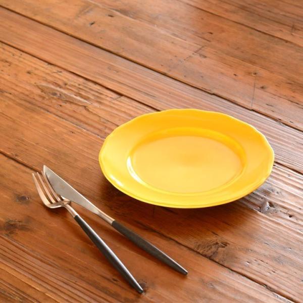 アウトレット 2color リム花プレート 19cm ケーキ皿 スイーツ皿 パン皿 取皿 プレート 洋食器 おしゃれ カフェ食器 日本製 美濃焼 おうちごはん|long-greenlabel|13
