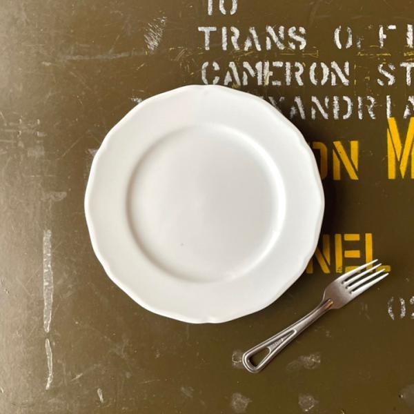 アウトレット 2color リム花プレート 19cm ケーキ皿 スイーツ皿 パン皿 取皿 プレート 洋食器 おしゃれ カフェ食器 日本製 美濃焼 おうちごはん|long-greenlabel|05