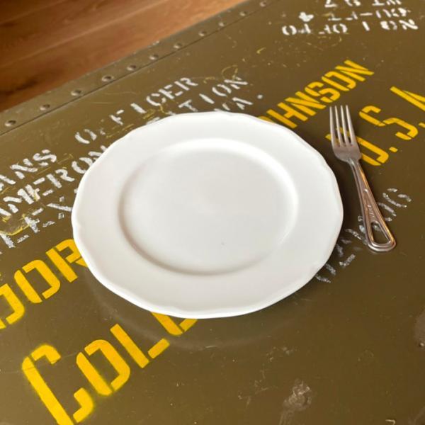 アウトレット 2color リム花プレート 19cm ケーキ皿 スイーツ皿 パン皿 取皿 プレート 洋食器 おしゃれ カフェ食器 日本製 美濃焼 おうちごはん|long-greenlabel|06