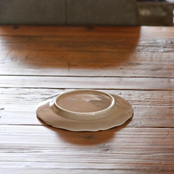 アウトレット 2color リム花プレート 19cm ケーキ皿 スイーツ皿 パン皿 取皿 プレート 洋食器 おしゃれ カフェ食器 日本製 美濃焼 おうちごはん|long-greenlabel|07