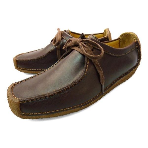 CLARKS クラークス ナタリー 靴 レディース チェスナット ブラウン 茶色|longpshoe