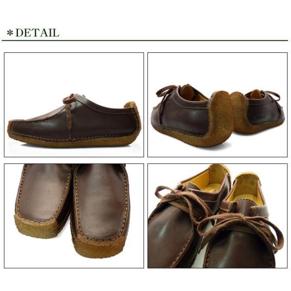 CLARKS クラークス ナタリー 靴 レディース チェスナット ブラウン 茶色|longpshoe|02