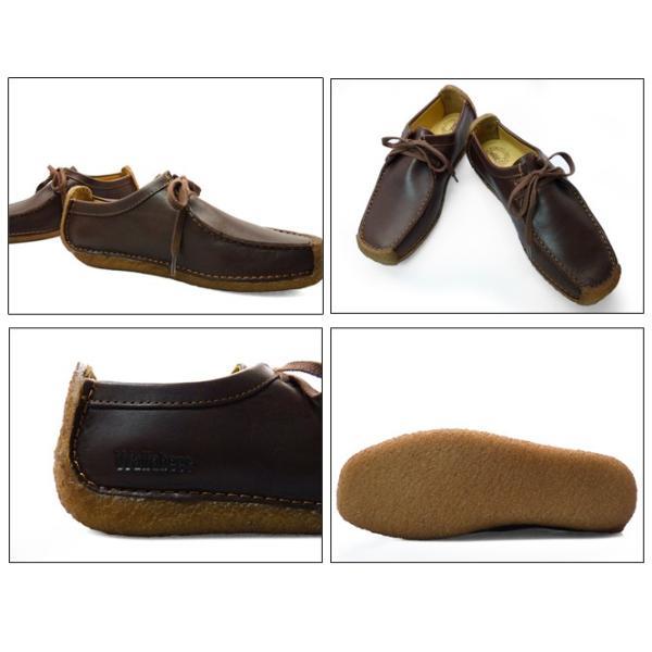 CLARKS クラークス ナタリー 靴 レディース チェスナット ブラウン 茶色|longpshoe|03