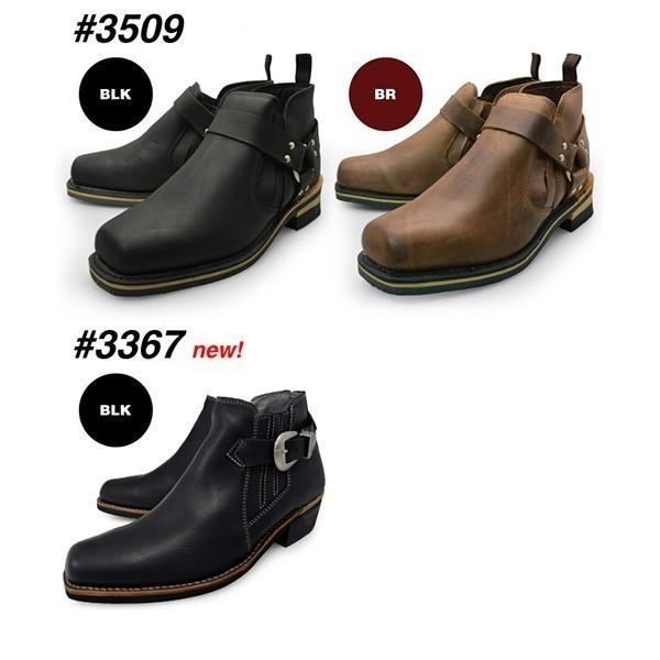 メンズ  本革 ブーツ サイドゴア、リング モンクストラップブーツ チャッカブーツ|longpshoe|06